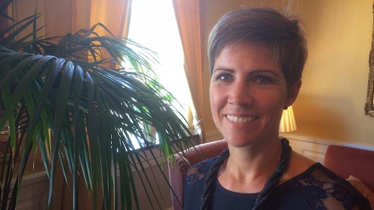 Camilla Sehlin, verksamhetsledare på Nyföretagarcentrum i Luleå