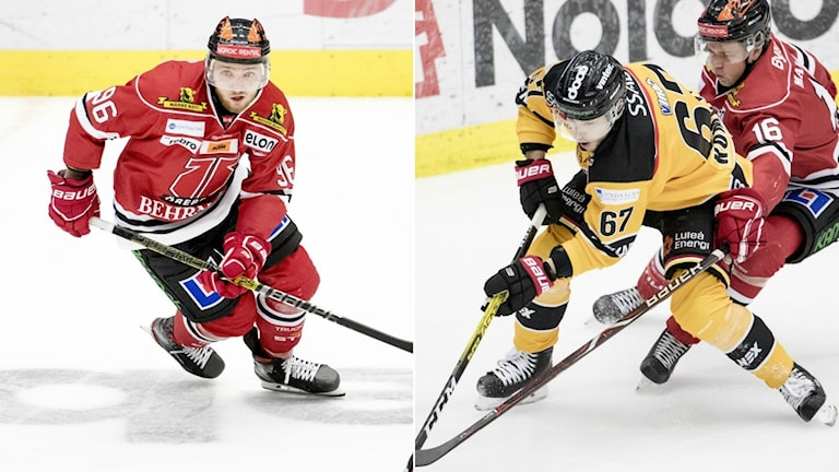 Robin Kovacs i Örebro och Konstantin Komarek i Luleå debuterade båda för sina nya klubbar.