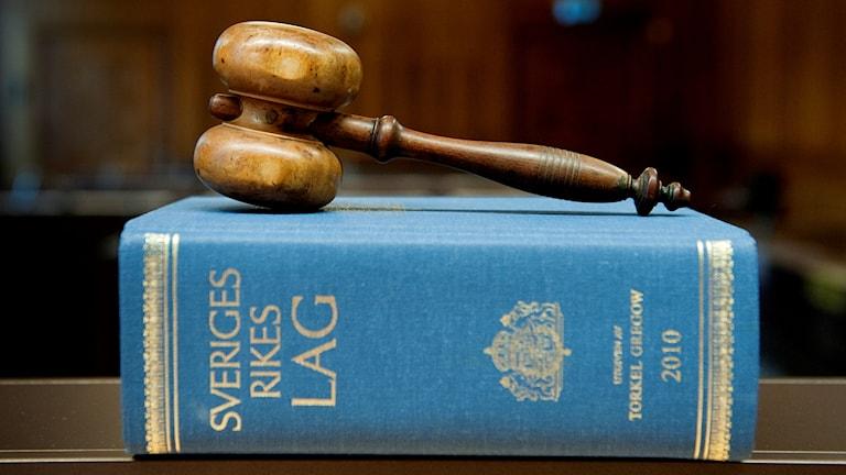 Domarklubba på Sveriges rikes lag.