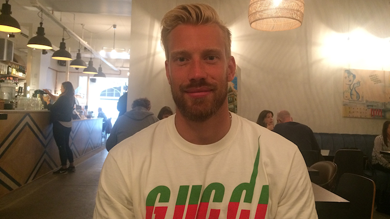 NHL målvakten Anders Nilsson är hemma i Luleå.