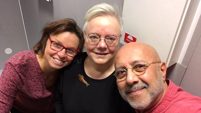 Lena Callne, Majlis Granström och Daryoush Tahmasebi