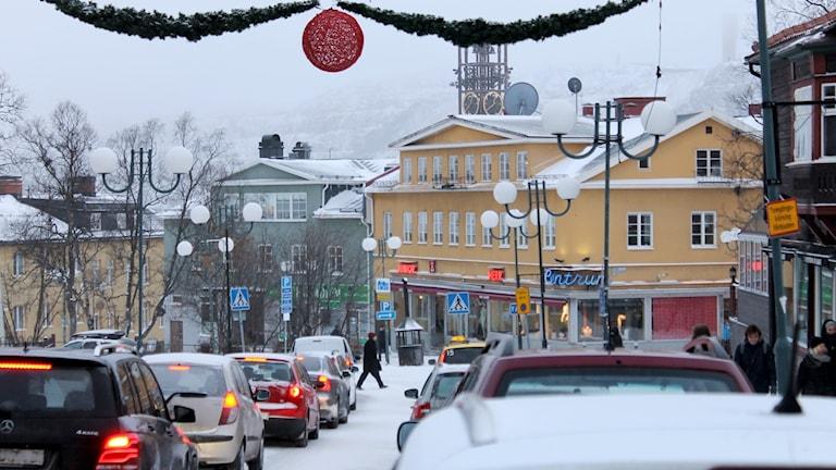 Nuvarande Kiruna centrum.