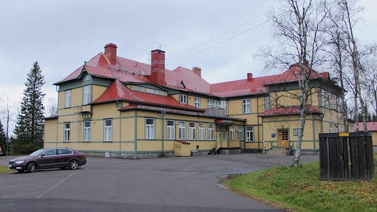 Bolagshotellet är ett av husen som ska flyttas i Kiruna.