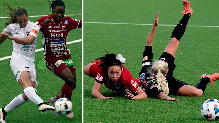 Faith Ikidi och June Pedersen.