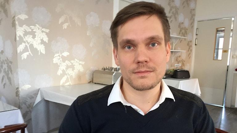 Markus Boman, chefsöverläkare på psykiatrimottagningen på Sunderby sjukhus.
