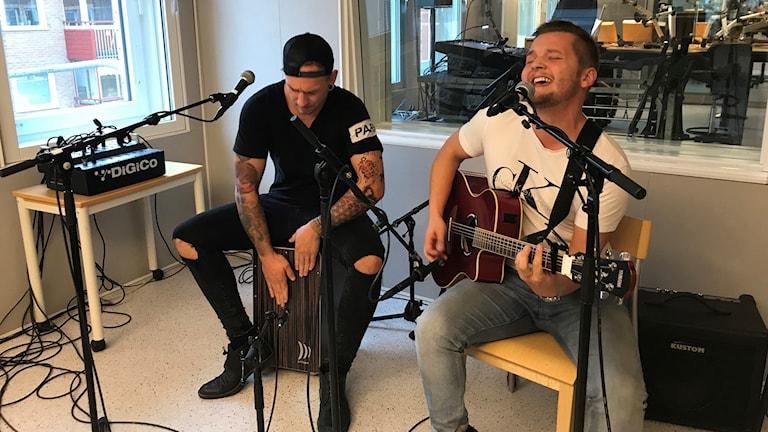 Arvet spelar live i P4 Norrbotten.