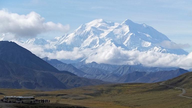 Denali som tidigare hette Mount McKinley.