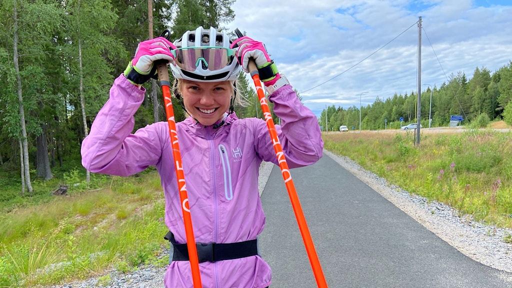 Emma Ribom, skidåkare