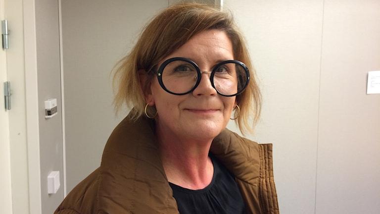 Susanne Hansson Frölander enhetschef för vårdhygien vid Norrbottens läns landsting