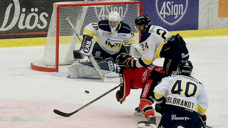 Luleå Hockey mot HV 71.