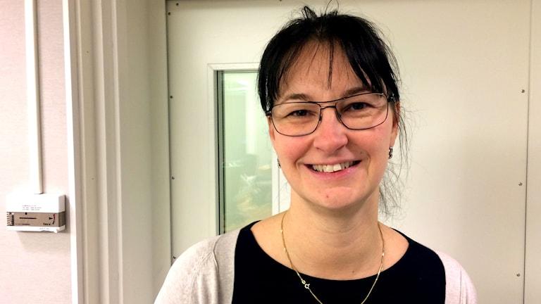 Distriktssköterskebarnmorskan Marjo-Riitta Wahlberg.