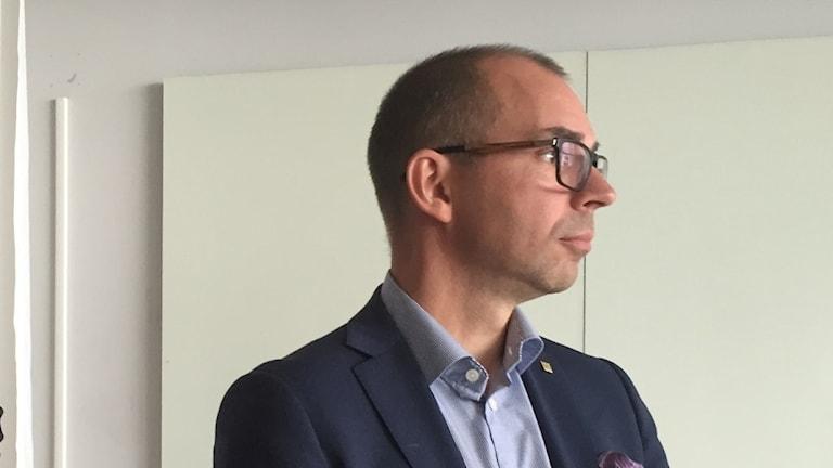 Niklas Nordstöm (S) kommunalråd i Luleå.