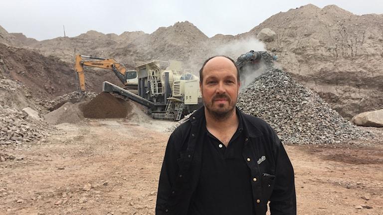 Patrik Snell, entreprenadföragare i Pajala vill ha uppdrag i Kaunisvaara-gruvan om den öppnas igen.