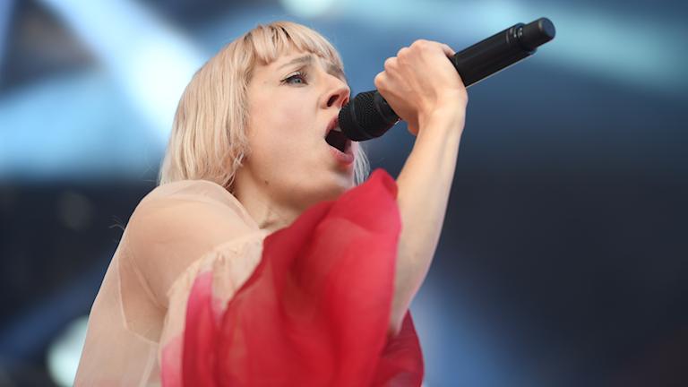 Veronica Maggio är en av de artister som kommer till Kirunafestivalen i helgen.