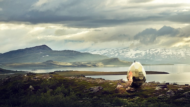 Solaregg Luossabacken i Kiruna
