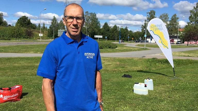 OS-mästaren Bernt Johansson är banchef på cykeltävlingen Sverigeloppet som passerar Boden.