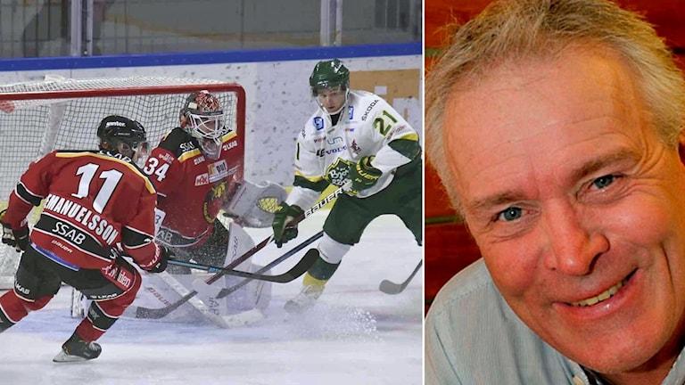 Luleå Hockey och P4 Norrbottens hockeyexpert Lars-Göran Niemi.