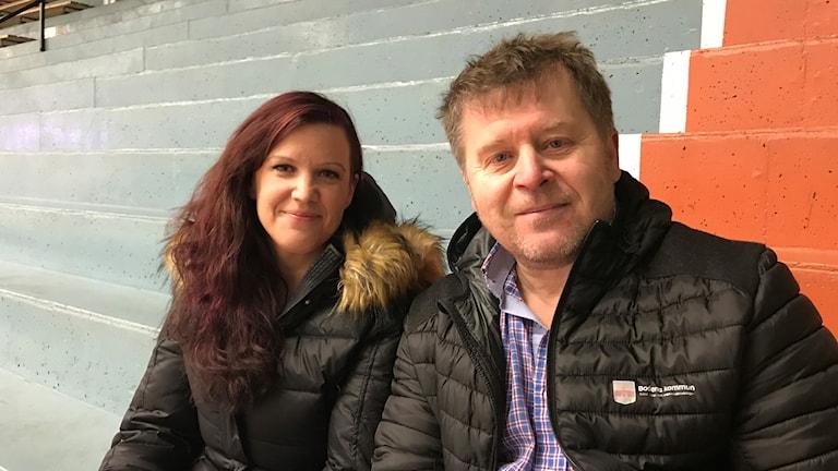 Linn Wahlberg och Staffan Eklund