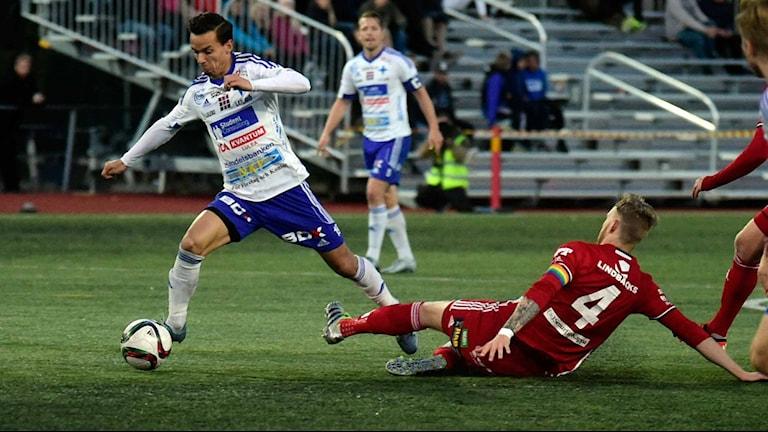 Arkivbild från derbyt mellan IFK Luleå - Piteå.