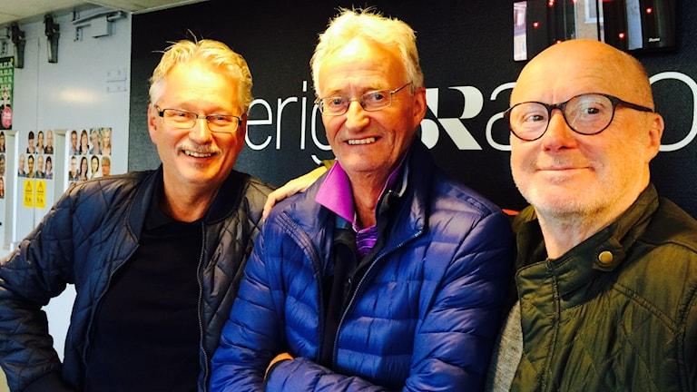 Lars Blomqvist, Rickard Wennström, Dan Bergman från Ragges