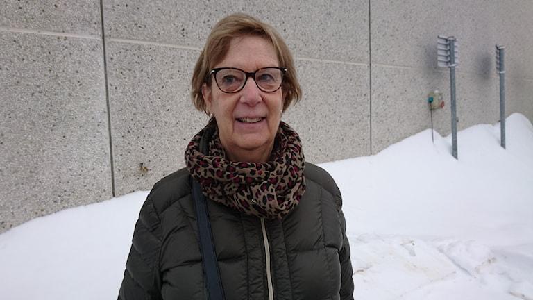 Marianne Zetterström.