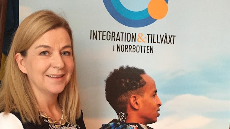 Anna-Maria Lundkvist-Monroy leder integrationsprojektet.