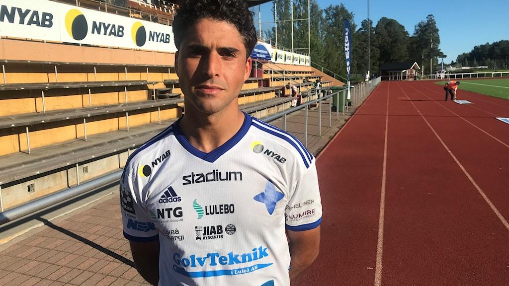 Yassine Assam IFK Luleå.