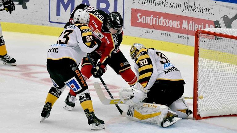 Luleå Hockey mot Skellefteå AIK.
