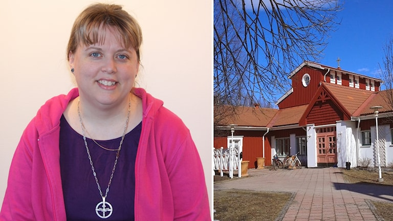 Annika Berglund diakon Mariakyrkan