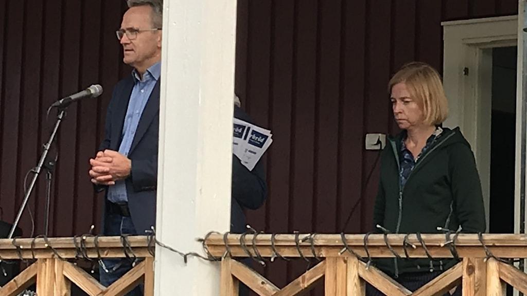 Polarbröds vd Anders E Johansson och ägaren Karin Bodin.