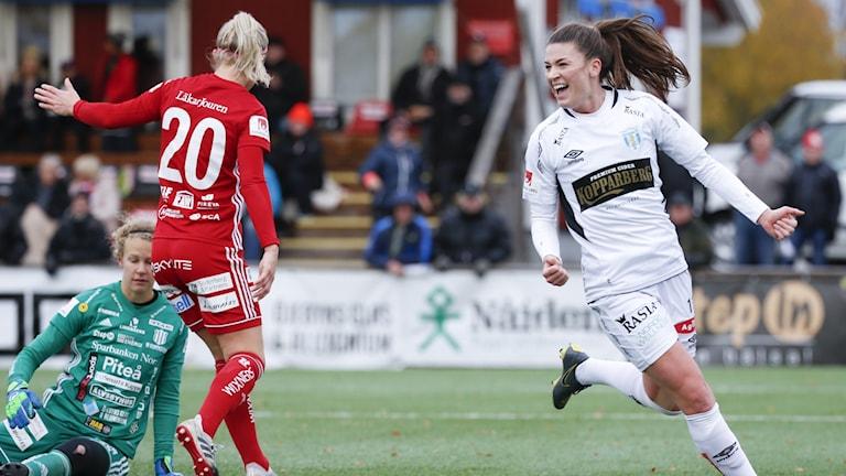 Piteå IF-Göteborg i damallsvenskan i fotboll