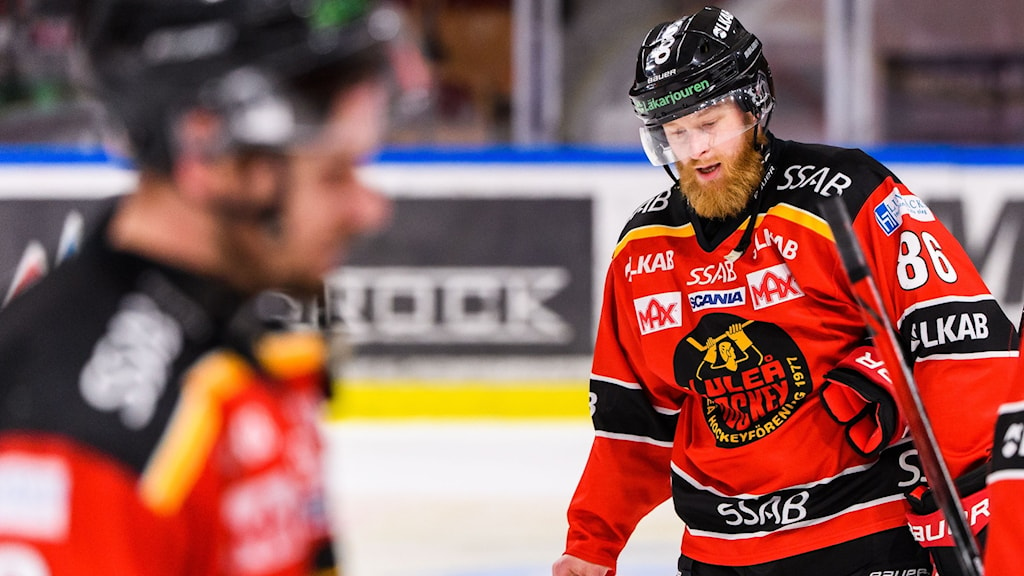 Linus Klasen i Luleå Hockey