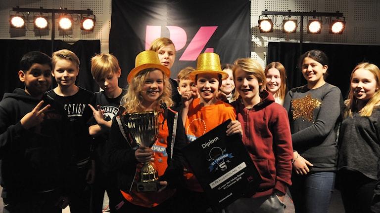 Mårängskolan 5C är vinnare av Vi i femman i Norrbotten 2018.