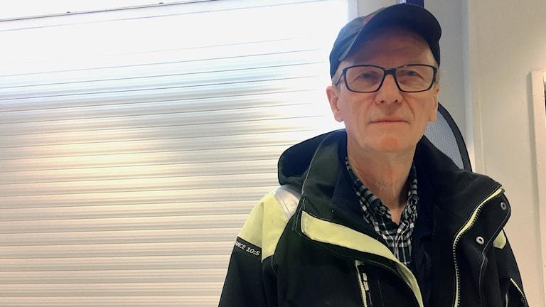 Karl-Gösta Ivari i Kiruna.