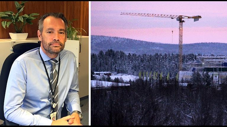 Fredrik Kristiansson, regionchef för Sveriges byggindustrier.