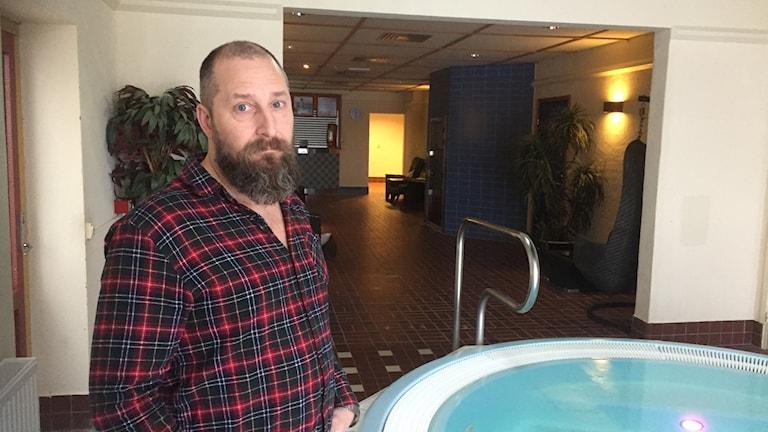 Alf Wennskog är verksamhetsutvecklare på Bodens kommun, och chef för bad- och föreningsservice.