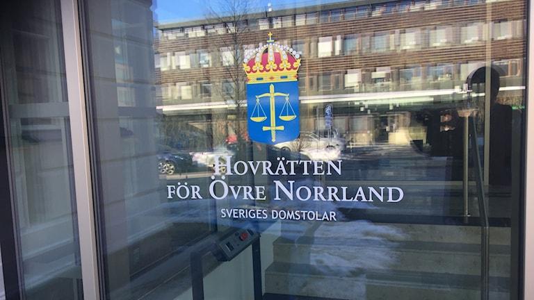 Hovrätten i Umeå.