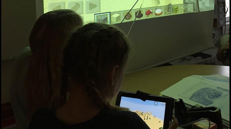 Elever på Måttsundsskolan i Luleå.