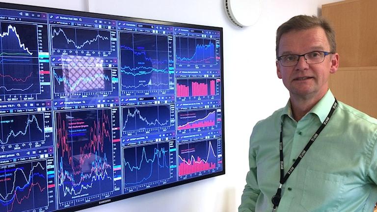 Markus Petäjäniemi, försäljnings- och marknadsdirektör, LKAB