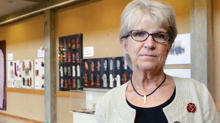 Kristina Zakrisson (S), kommunalråd i Kiruna.