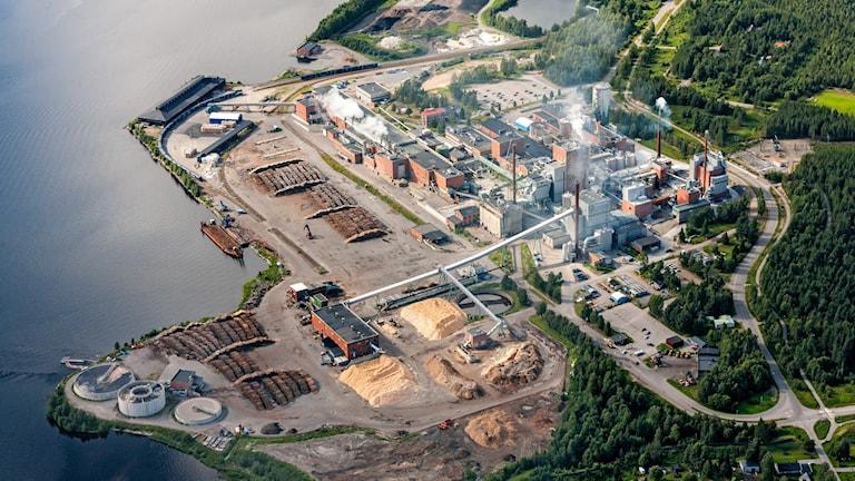 SCA pappersbruk i Piteå, Munksund.