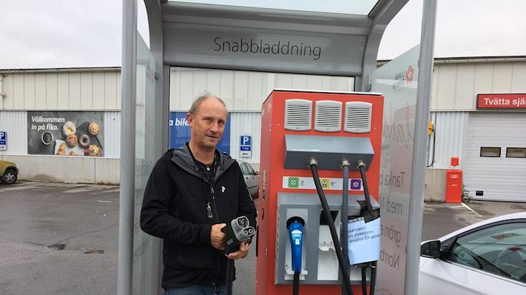 Ulf Lindström, energitekniker på Luleå energi
