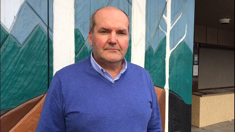 Thomas Nilsson, chef för polisregion nords utredningsenhet.