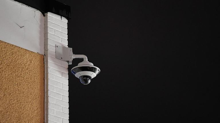 Kameraövervakning.