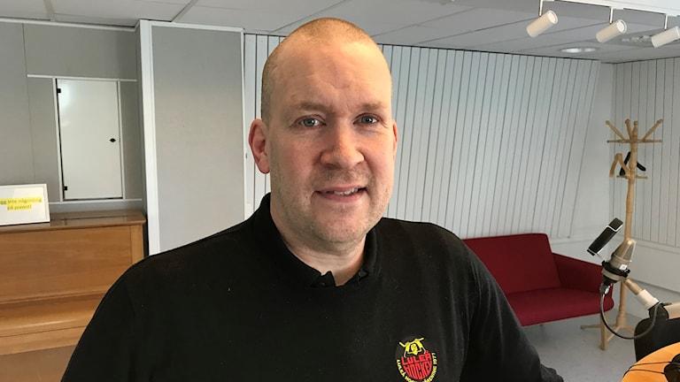 """Stefan """"Skuggan"""" Nilsson, General Manager i Luleå hockey."""
