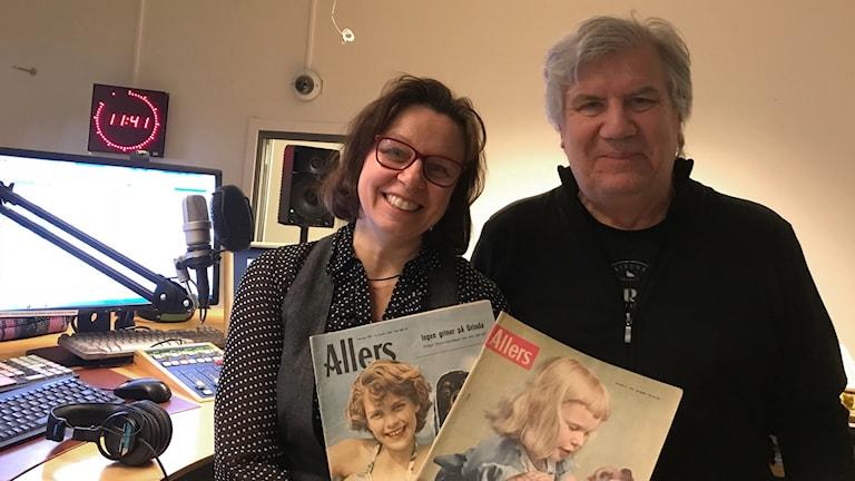 Lena Callne och Larre Niemi