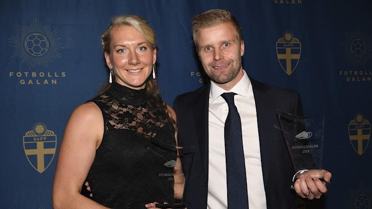 Tess Olofsson och Glenn Nyberg.