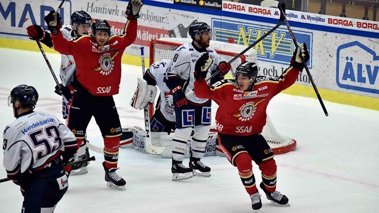 Luleå Hockey mot Linköping Hockey
