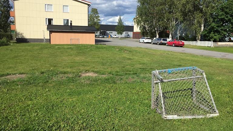 Det är på den här tomten som Bodenbo vill bygga det nya hyreshuset.