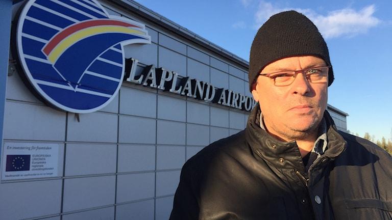 Rune Blomster förvaltningschef för service och teknik på Gällivare kommun